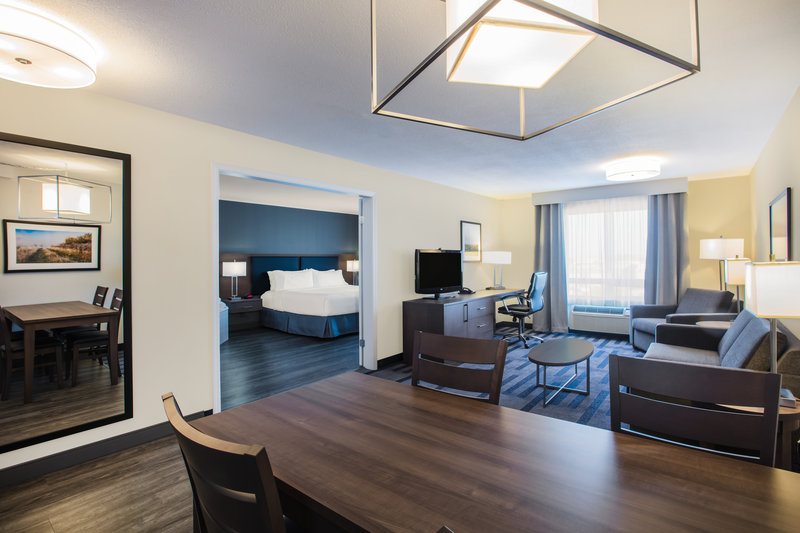 Holiday Inn Hotel & Suites Grande Prairie-Conference Ctr-Enjoy free WiFi while you relax in our spacious Royal Suite<br/>Image from Leonardo