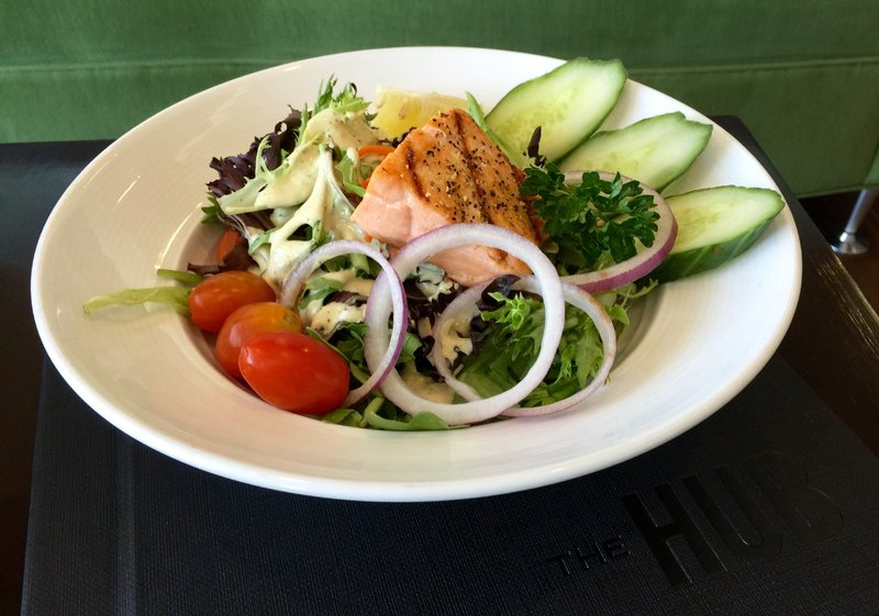 Holiday Inn Saskatoon Downtown-Salmon Salad<br/>Image from Leonardo