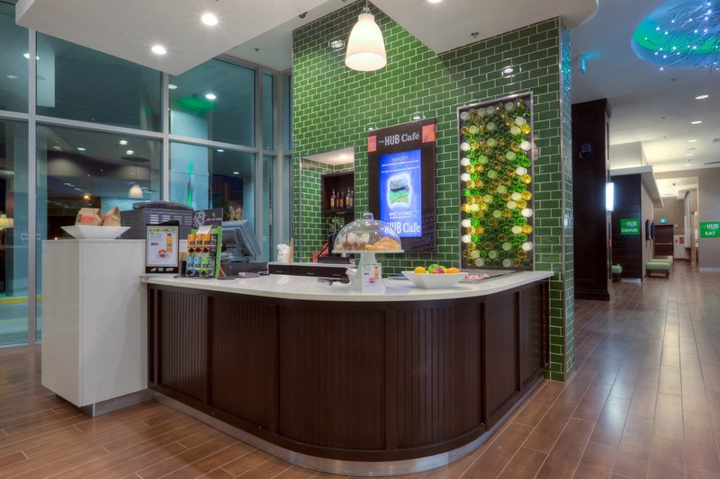 Holiday Inn Saskatoon Downtown-Get a coffee, pastry, yogurt parfait and more at The Hub Cafe.<br/>Image from Leonardo
