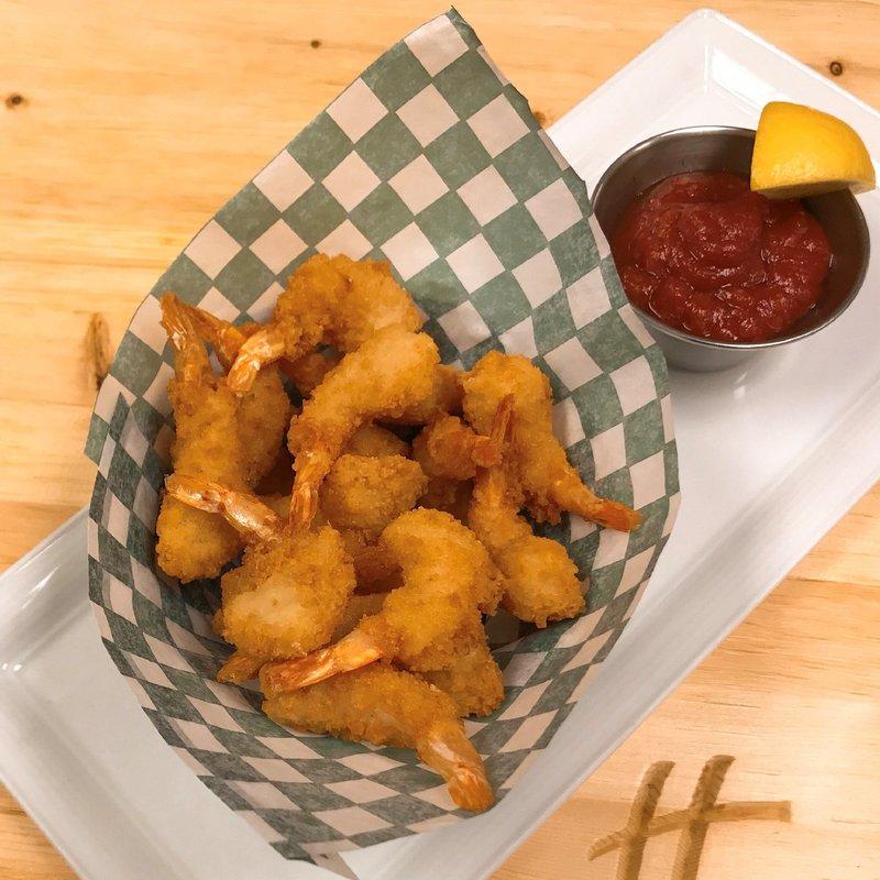 Holiday Inn Saskatoon Downtown-Popcorn Shrimp with House made piquant seafood sauce<br/>Image from Leonardo