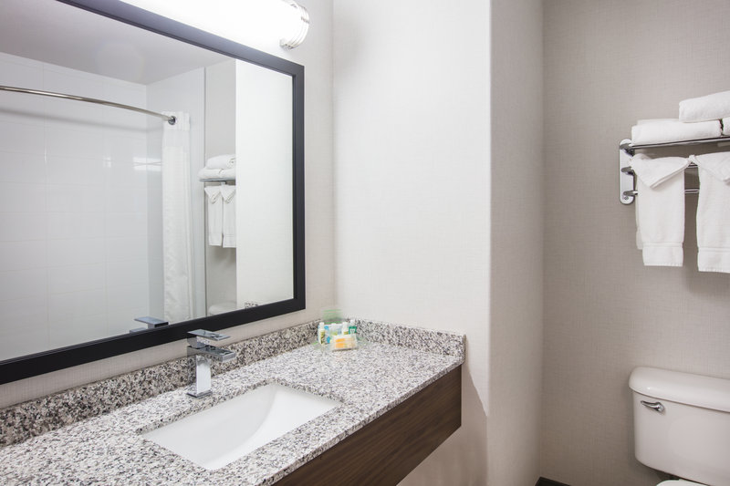 Holiday Inn Hotel & Suites Grande Prairie-Conference Ctr-Our Spacious Bathrooms Were Designed With Comfort In Mind<br/>Image from Leonardo