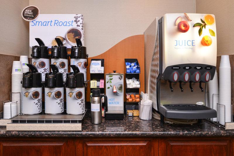 Holiday Inn Express Morgantown-Fresh Coffee and Juice Bar<br/>Image from Leonardo