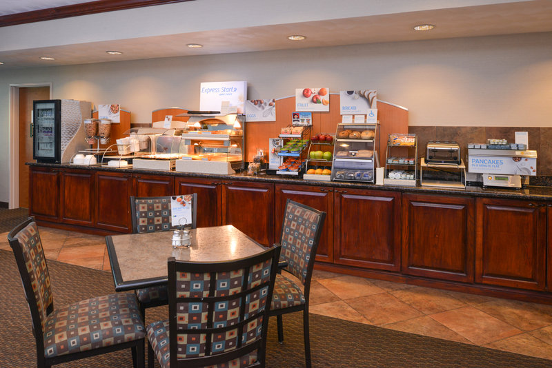 Holiday Inn Express Morgantown-Complimentary Deluxe Continental Breakfast<br/>Image from Leonardo