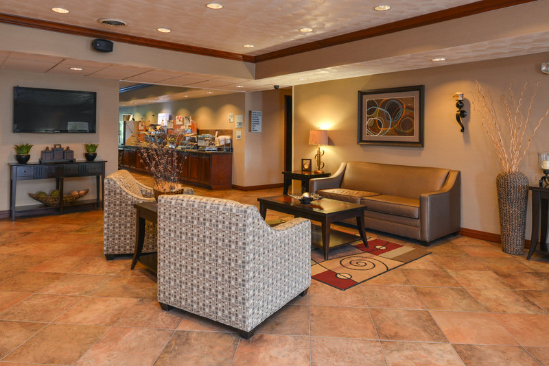 Holiday Inn Express Morgantown-Relax in our Hotel Lobby<br/>Image from Leonardo
