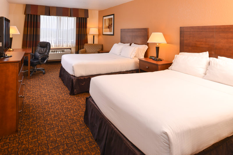 Holiday Inn Express Morgantown-Two Queen Bed Business Suite Room<br/>Image from Leonardo