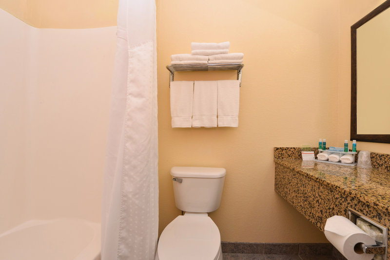 Holiday Inn Express Morgantown-Standard Guest Bathroom<br/>Image from Leonardo
