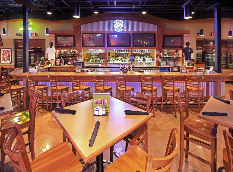 Holiday Inn Little Rock - Airport - Conf Ctr-Boston's Sports Bar has ten TVs on Sports for fun.<br/>Image from Leonardo