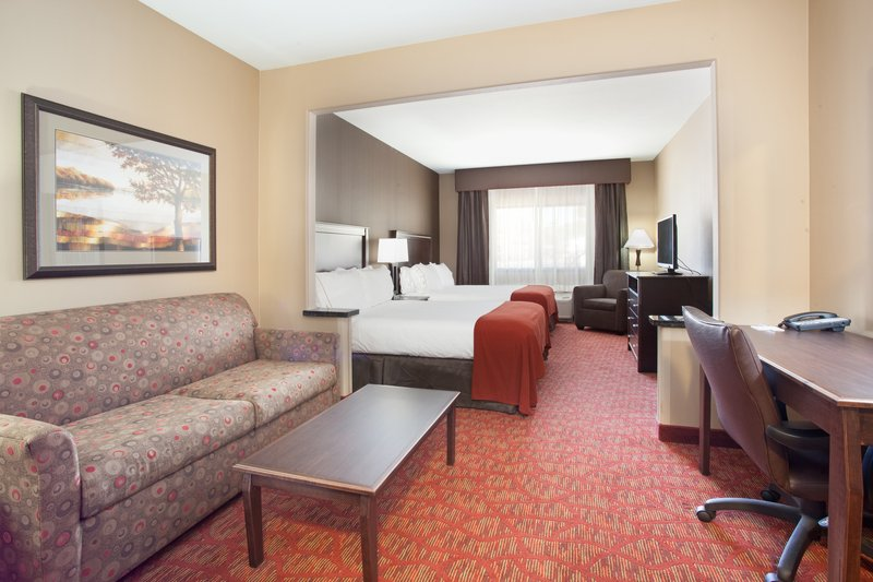Holiday Inn Express & Suites Moab-Two Queen Suite with Full Size Sofa Sleeper<br/>Image from Leonardo