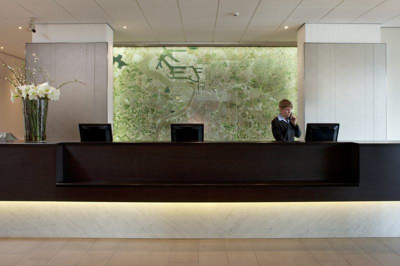 Crowne Plaza Antwerp-Reception Area<br/>Image from Leonardo