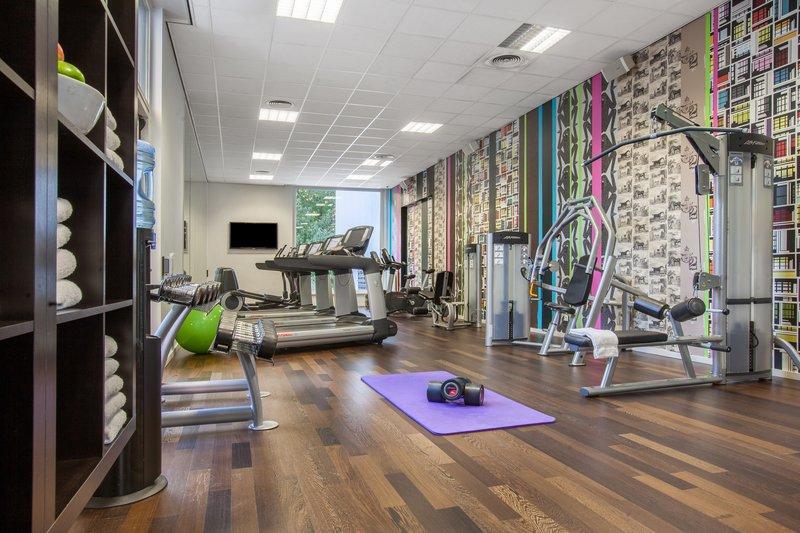 Crowne Plaza Antwerp-Fitness Center<br/>Image from Leonardo