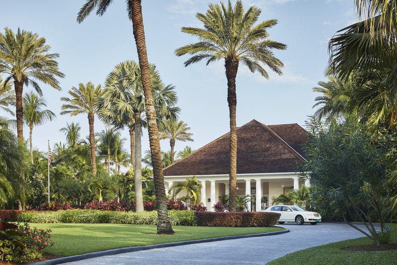 Ocean Club, A Four Seasons Resort, Bahamas-Resort Entrance<br/>Image from Leonardo