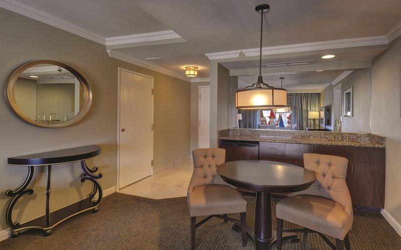 Excalibur Hotel and Casino - Resort Luxury Suite Living Room <br/>Image from Leonardo