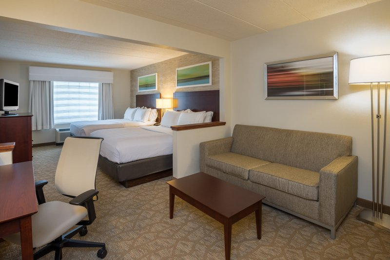 Holiday Inn Baltimore BWI Airport-All rooms including our two queens come with a pull out sofa bed<br/>Image from Leonardo