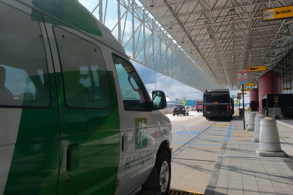 Holiday Inn Baltimore BWI Airport-24-hour shuttle service to and from airport<br/>Image from Leonardo