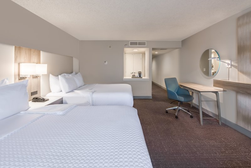 Crowne Plaza Suites Arlington - Ballpark - Stadium-Two Queen WorkLife Guest Room<br/>Image from Leonardo