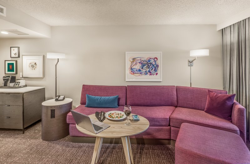 Crowne Plaza Suites Arlington - Ballpark - Stadium-WorkLife Suite Living Room<br/>Image from Leonardo