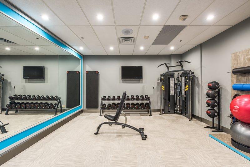 Crowne Plaza Suites Arlington - Ballpark - Stadium-Our newly renovated Fitness Center<br/>Image from Leonardo
