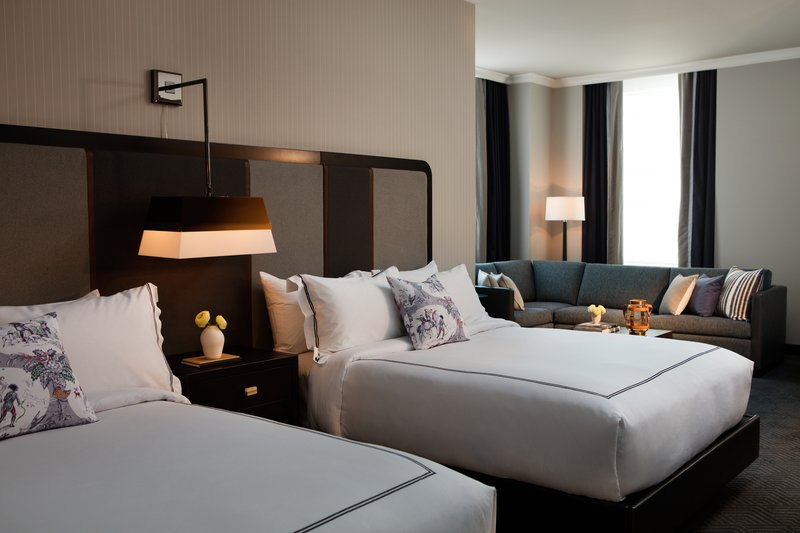 Cardinal Hotel; A Kimpton Hotel-Queen Studio with Two Queen Beds<br/>Image from Leonardo