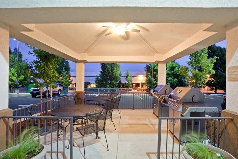 Candlewood Suites Portland Airport-24 Hour Gazebo Grill- Complimentary- 2 Natural Gas Grills<br/>Image from Leonardo