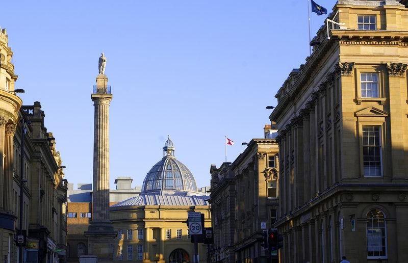 Crowne Plaza Newcastle - Stephenson Quarter-Greys Monument<br/>Image from Leonardo
