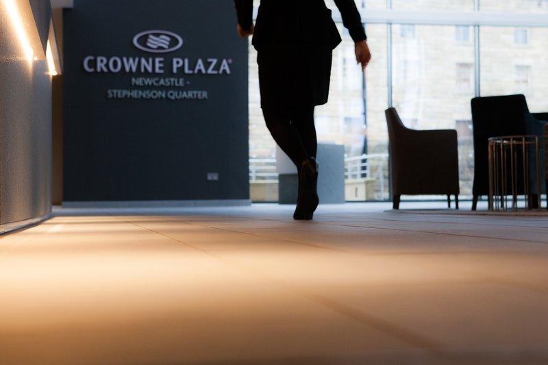 Crowne Plaza Newcastle - Stephenson Quarter-Reception<br/>Image from Leonardo