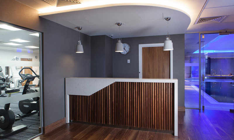 Crowne Plaza Newcastle - Stephenson Quarter-Mineral House reception desk<br/>Image from Leonardo