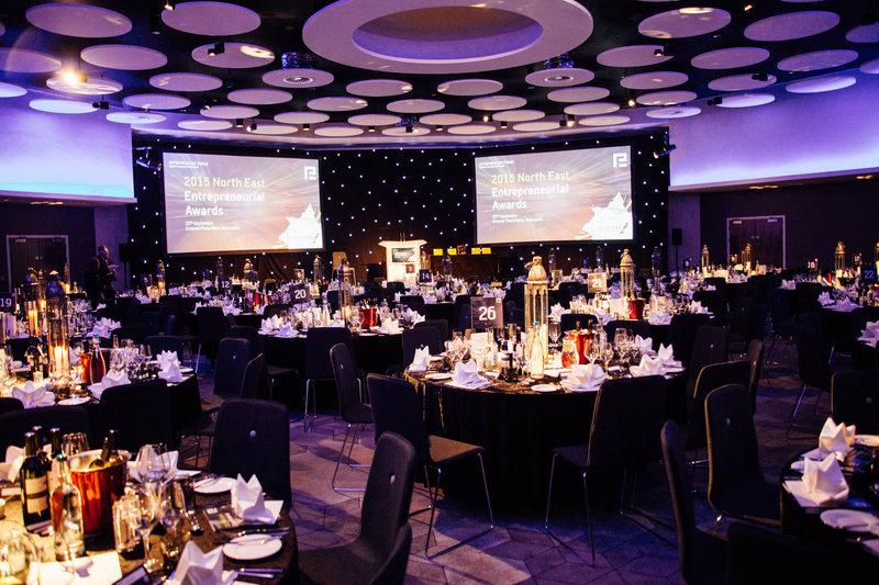 Crowne Plaza Newcastle - Stephenson Quarter-Stephenson Suite set for an Event<br/>Image from Leonardo