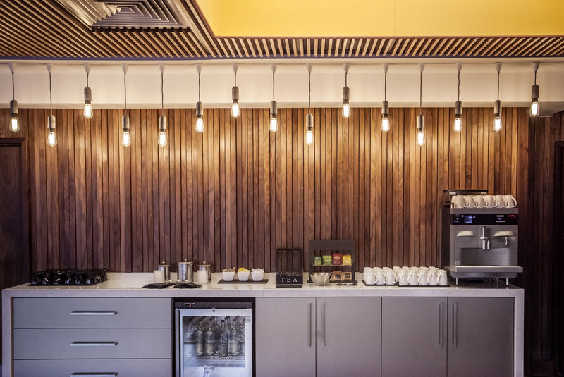 Crowne Plaza Newcastle - Stephenson Quarter-Bean to Cup coffee machines available for meetings and events<br/>Image from Leonardo
