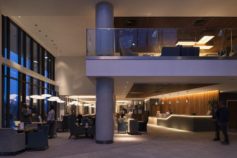 Crowne Plaza Newcastle - Stephenson Quarter-Hotel Lobby and Reception<br/>Image from Leonardo