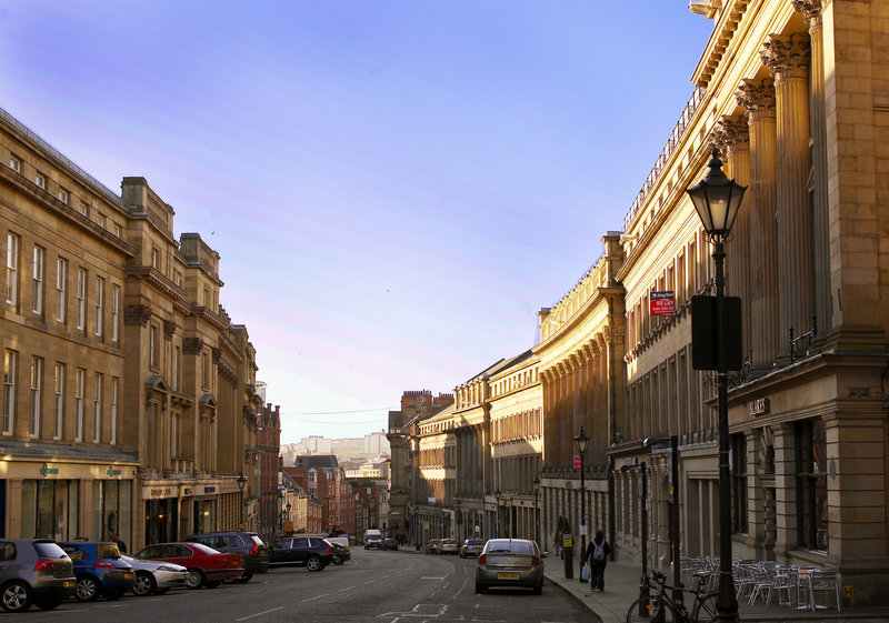 Crowne Plaza Newcastle - Stephenson Quarter-A short stroll to the listed Grey Street and the City Centre shops<br/>Image from Leonardo