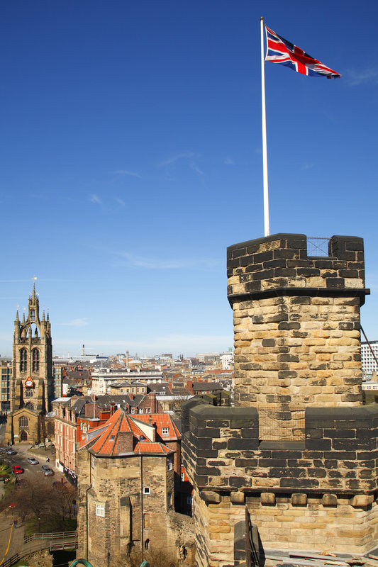Crowne Plaza Newcastle - Stephenson Quarter-Castle Keep<br/>Image from Leonardo