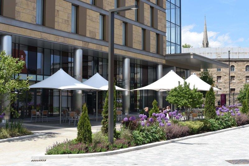 Crowne Plaza Newcastle - Stephenson Quarter-Terrace<br/>Image from Leonardo