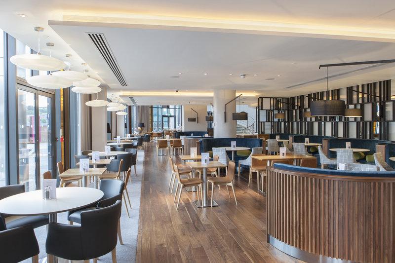 Crowne Plaza Newcastle - Stephenson Quarter-Hawthorns specialising in Northern British cuisine<br/>Image from Leonardo
