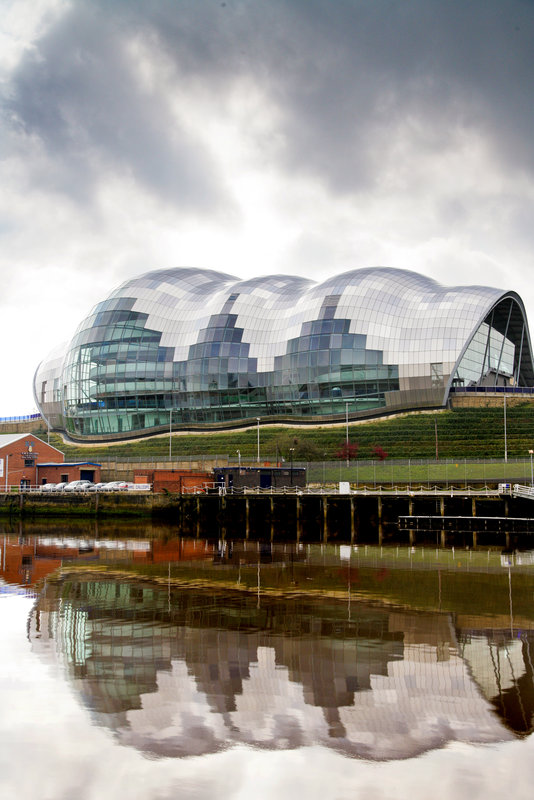 Crowne Plaza Newcastle - Stephenson Quarter-The Sage, arts and music venue on the Quayside<br/>Image from Leonardo