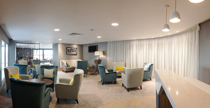 Crowne Plaza Newcastle - Stephenson Quarter-Club Floor Lounge is open all day to our Club Floor guests<br/>Image from Leonardo