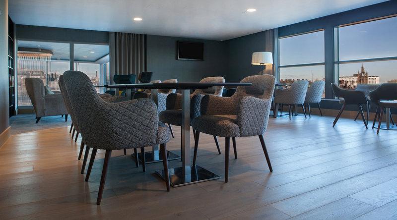 Crowne Plaza Newcastle - Stephenson Quarter-Club Floor Lounge<br/>Image from Leonardo
