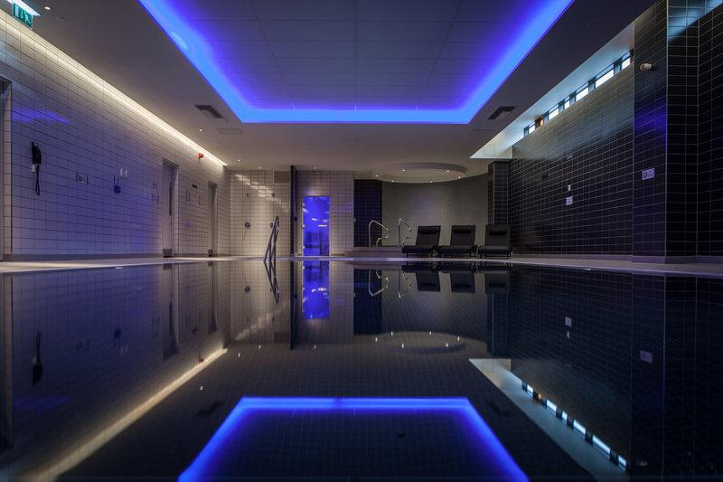 Crowne Plaza Newcastle - Stephenson Quarter-Mineral House pool, open 0630 till 2200<br/>Image from Leonardo