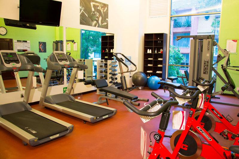 Crowne Plaza Hotel de Mexico-Gym<br/>Image from Leonardo