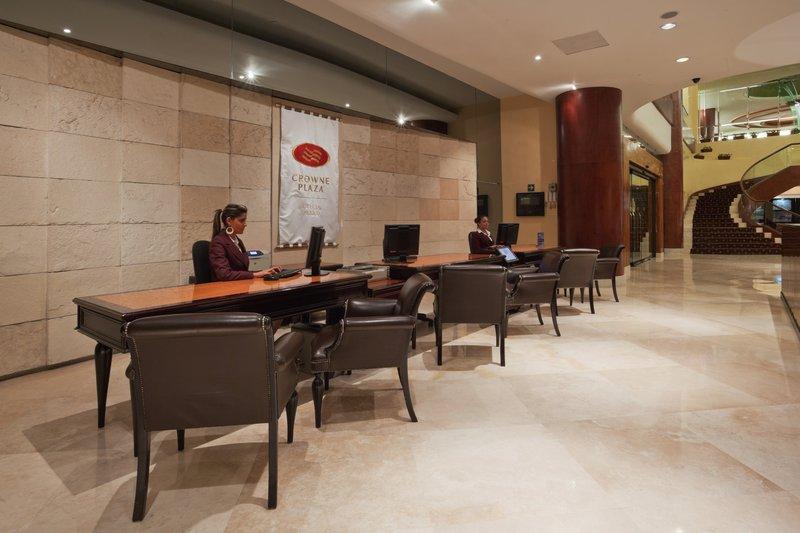 Crowne Plaza Hotel de Mexico-Front Desk<br/>Image from Leonardo
