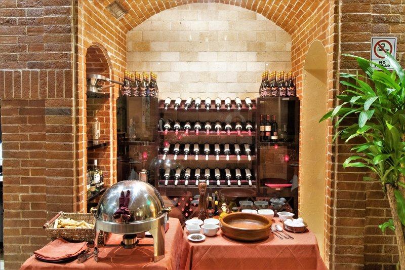 Crowne Plaza Hotel de Mexico-Beverage Selection<br/>Image from Leonardo