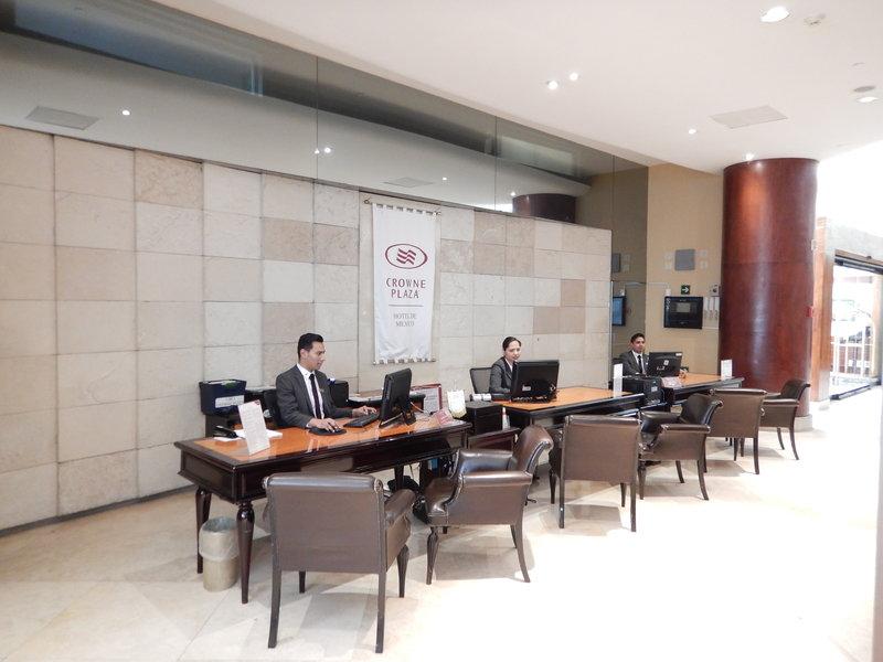 Crowne Plaza Hotel de Mexico-Reception<br/>Image from Leonardo