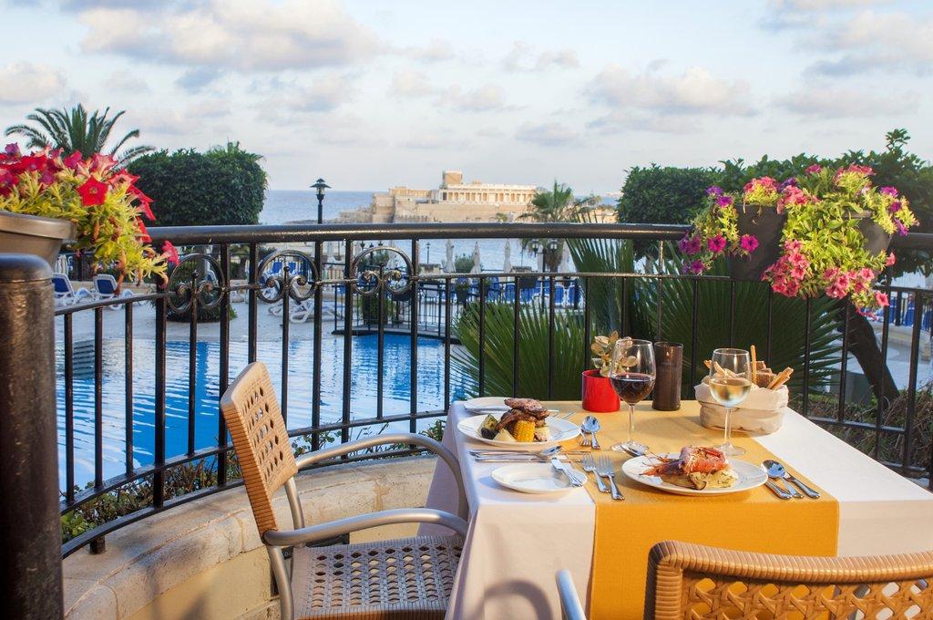 Corinthia Hotel St. George's Bay-Fra Martino Terrace<br/>Image from Leonardo