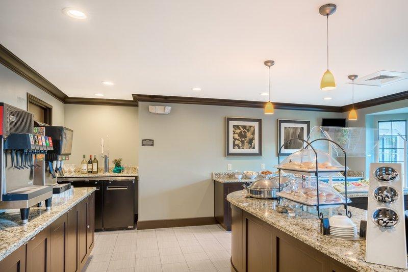 Staybridge Suites Wilmington-Newark-Breakfast Bar <br/>Image from Leonardo