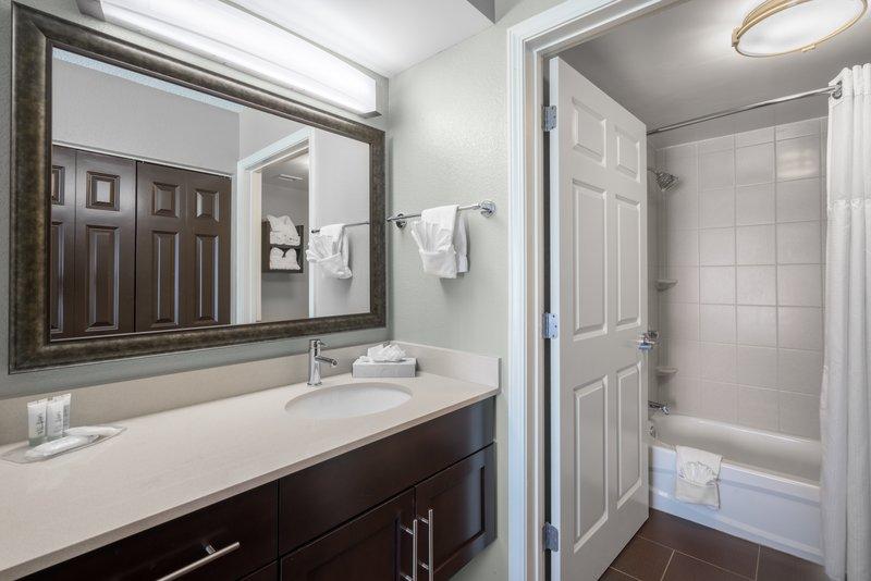 Staybridge Suites Wilmington-Newark-Guest Bathroom <br/>Image from Leonardo
