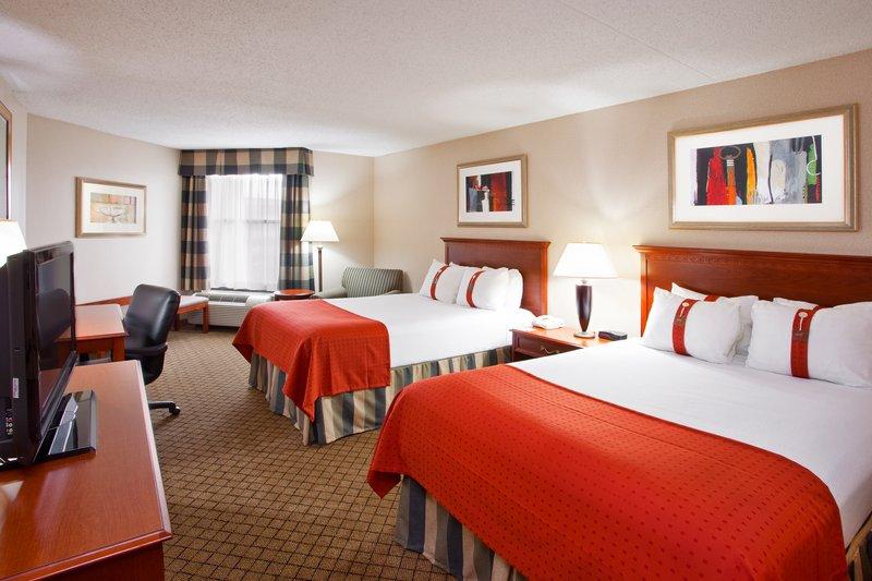 Holiday Inn Dayton/Fairborn I-675-Queen Bed Guest Room<br/>Image from Leonardo