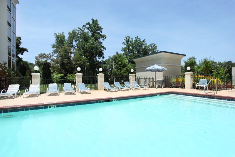 Holiday Inn Asheville - Biltmore West-Outdoor Swimming Pool to cool down on hot summer days.<br/>Image from Leonardo