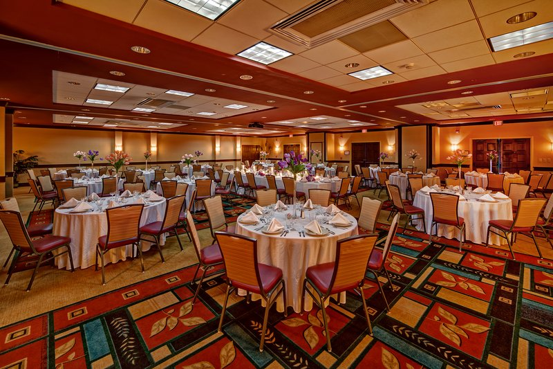 Holiday Inn Asheville - Biltmore West-Banquet Room for those special occasions.<br/>Image from Leonardo