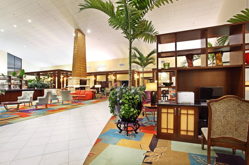 Holiday Inn Asheville - Biltmore West-Business Center for those last minute preparations.<br/>Image from Leonardo