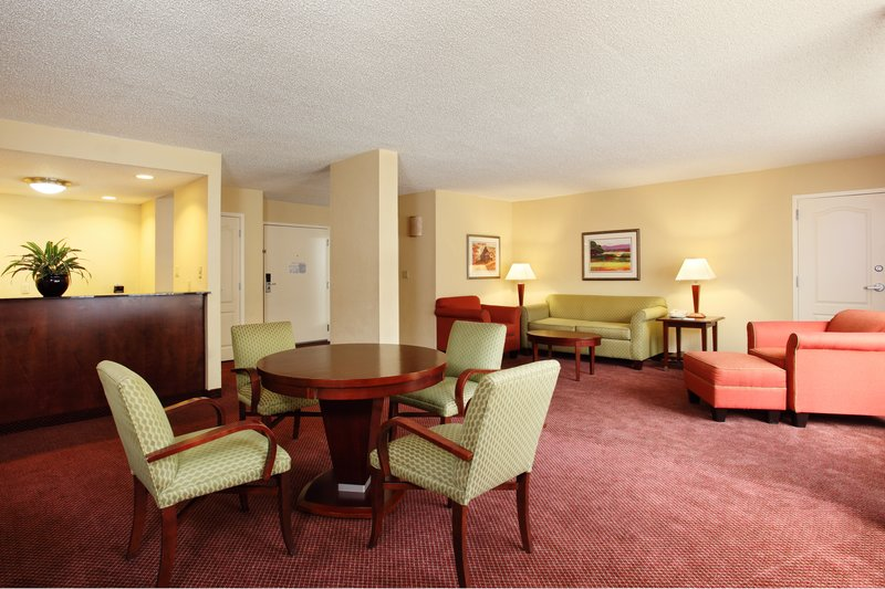 Holiday Inn Asheville - Biltmore West-Our suite is wonderful for group gatherings with wet bar.<br/>Image from Leonardo