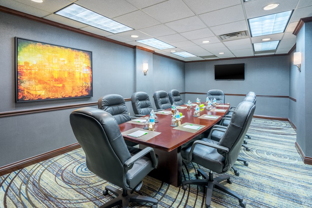 Holiday Inn Inner Harbor-Newly Renovated, our professional Boardroom<br/>Image from Leonardo